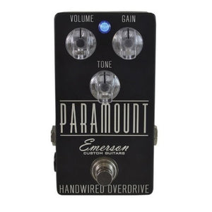 Emerson Custom Paramount Handwired Overdrive Pedal
