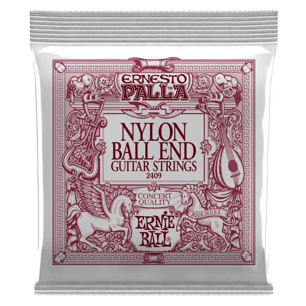 Ernie Ball Ernesto Palla Nylon Ball End Black And Gold