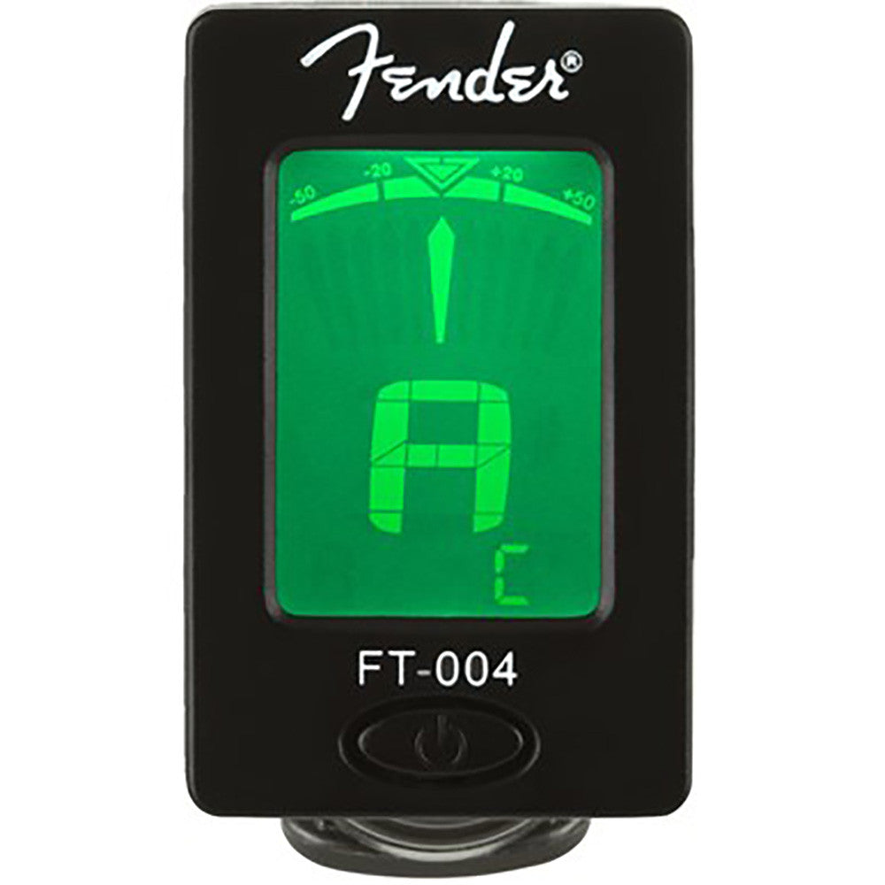 Fender FT-004 Clip-On Chromatic Tuner - Black