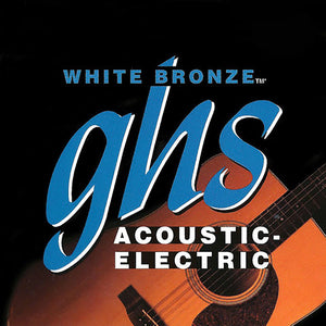 GHS Acoustic White Bronze Extended Extra Light