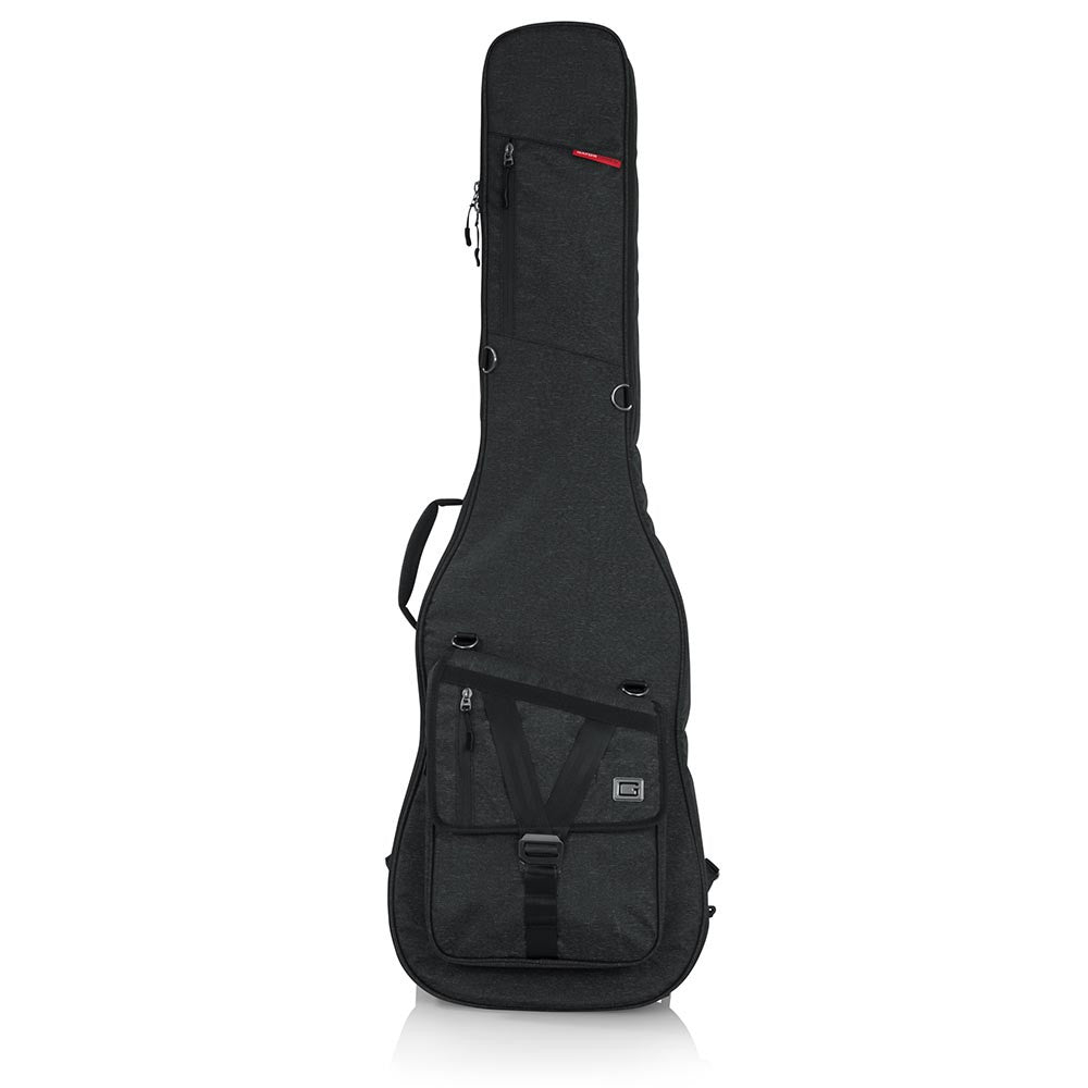 Gator Cases Transit Series Bass Guitar Gig Bag - Charcoal Black Exterior