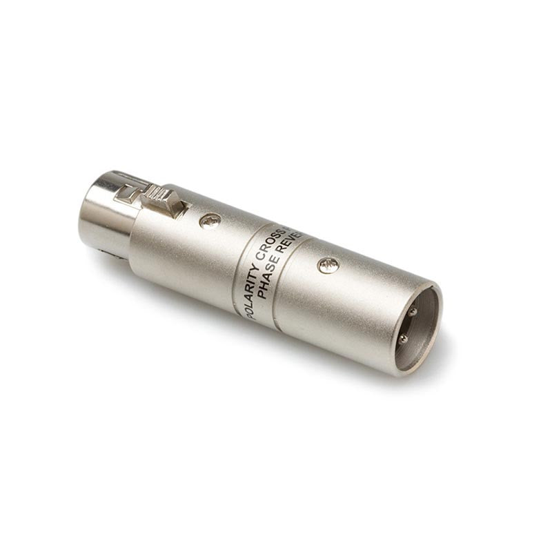 Hosa GXX-195 XLR Male to XLR Female Polarity Cross Adapter