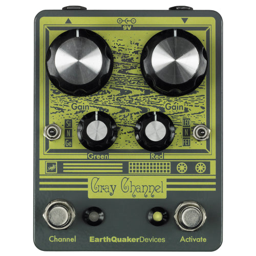 Earthquaker Gray Channel Dynamic Dirt Doubler