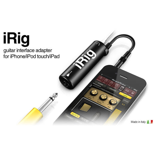 IK Multimedia IRig Audio Interface For IPhone/IPod Touch/IPad