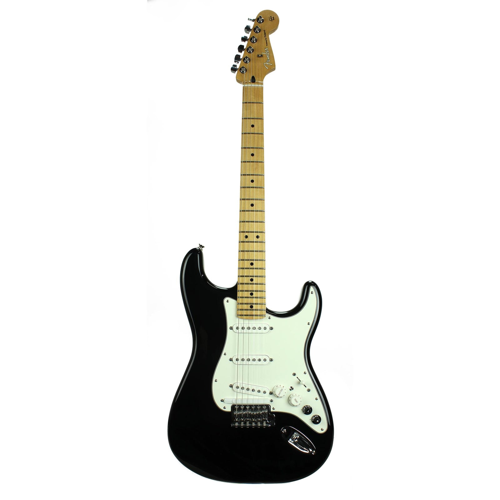 Fender VG Strat - Black - MN - With Original Gig Bag - Used