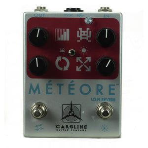 Caroline Meteore Lo Fi Reverb - CME Exclusive Red/Silver - Used