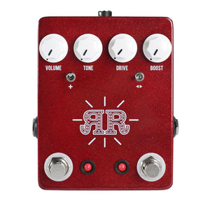 JHS Butch Walker Signature Ruby Red Pedal