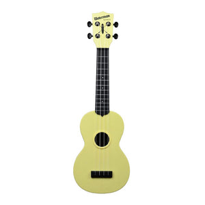 Kala Waterman Soprano Ukulele - Matte Pale Yellow