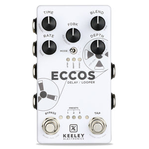 Keeley Eccos Delay & Looper Pedal