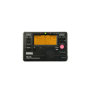 Korg TM50 Combo Digital Tuner/Metronome - Black