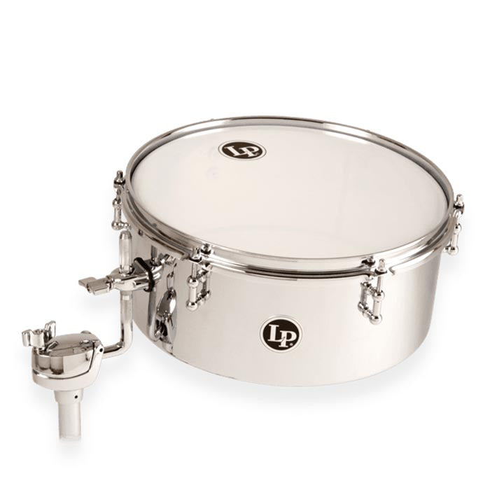 "LP 13"" Chrome Drumset Timb 5.5 Depth"