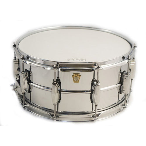 "Ludwig 6.5x14"" Chrome Plated Brass Shell Snare"