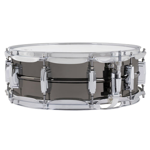 "Ludwig 5X14"" Black Beauty Brass Shell Snare, Smooth Shell, Imperial Lugs"