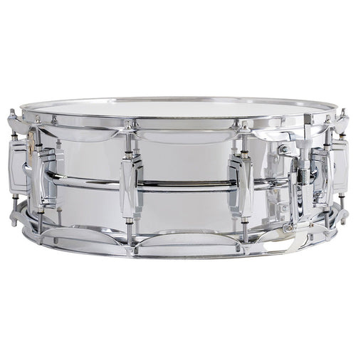 "Ludwig 5x14"" Supraphonic Chrome Plated Aluminum Snare - Smooth Shell"