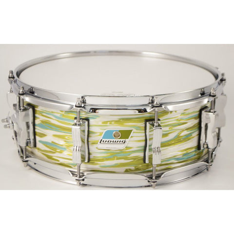"Ludwig 5X14"" Supraphonic Chrome Plated Aluminum Snare, Smooth Shell"