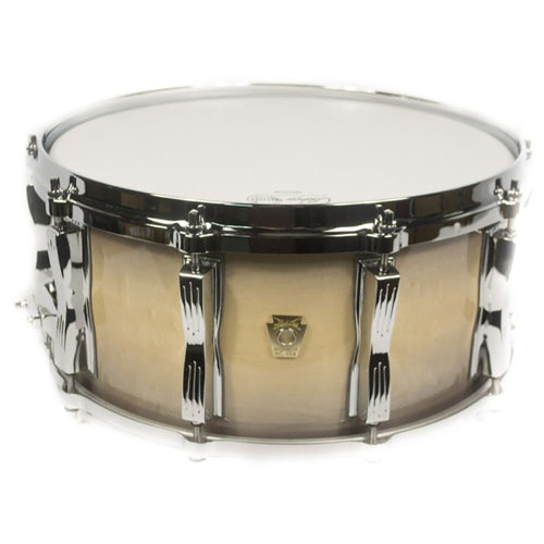 "Ludwig 6.5X14"" Classic Maple Custom Snare, Black Natural"