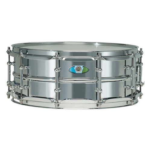 "Ludwig 14x6.5"" Supralite Steel Snare"