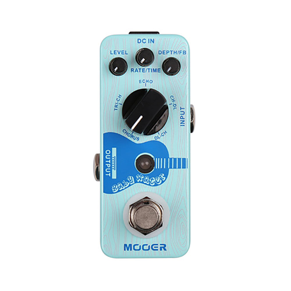 Mooer Baby Water Acoustic Guitar Delay And Chorus Pedal