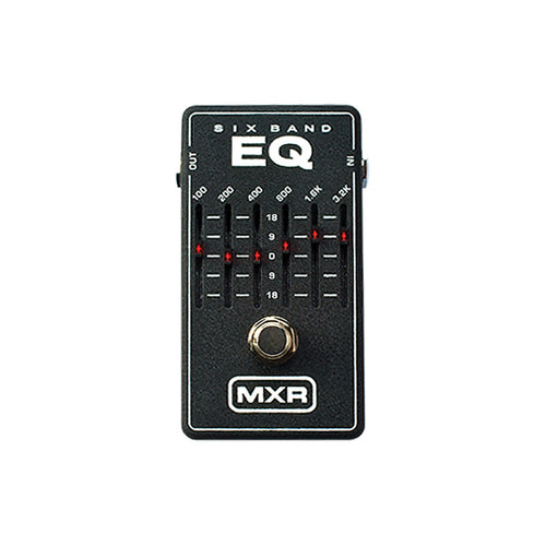 MXR 6-Band Graphic EQ