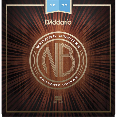 Daddario Nylon Tapewound Bass String Set