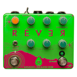 Old Blood Noise Data Choir Rever Reverse Delay Reverb - Green Summer Neon
