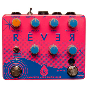 Old Blood Noise Data Choir Rever Reverse Delay Reverb - Pink Summer Neon