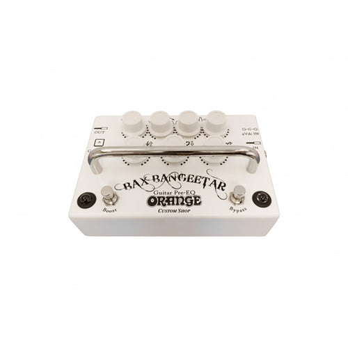 Orange Custom Shop Guitar Pre-Eq Stompbox, White
