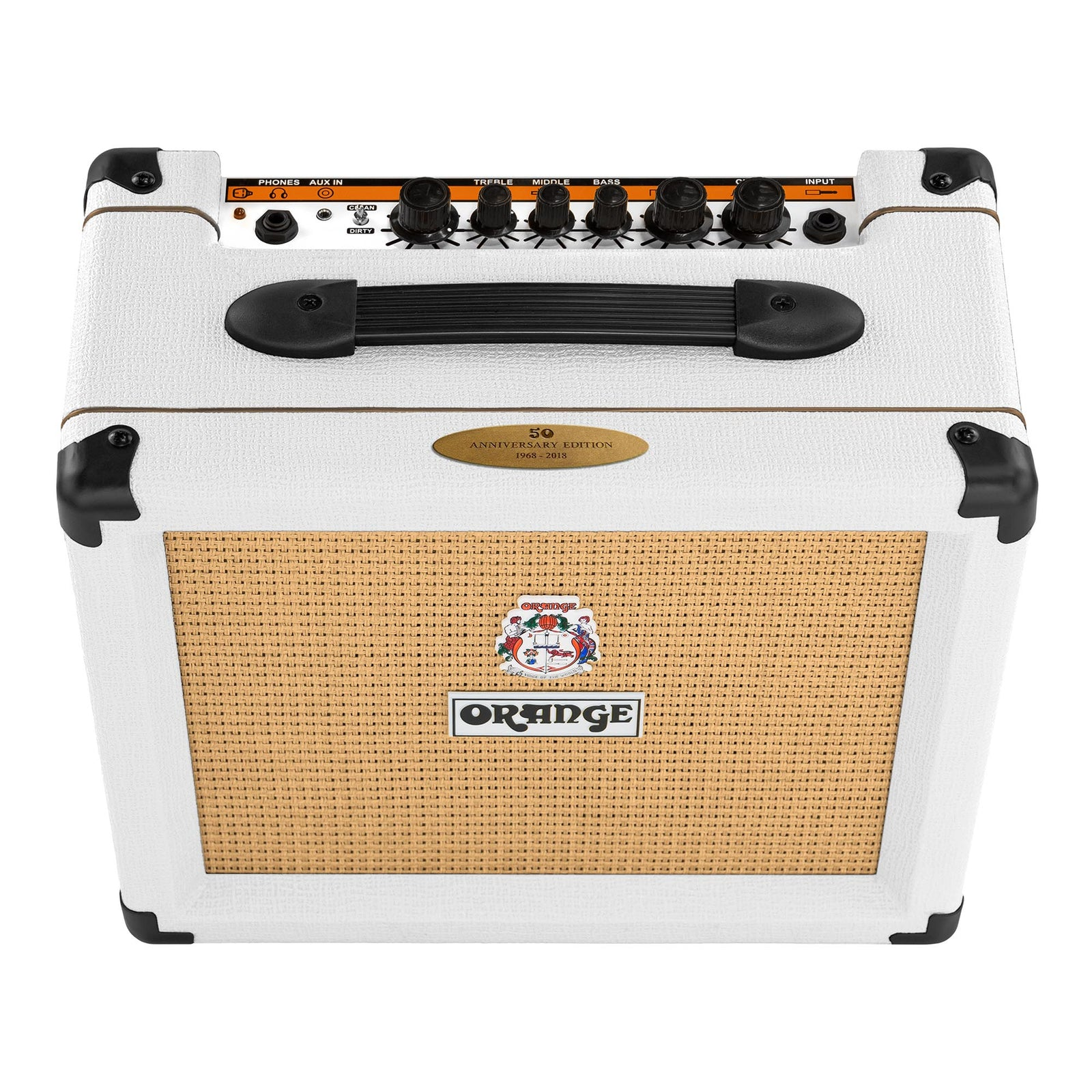 Orange Crush 20 50th Anniversary Combo Amp, White Tolex