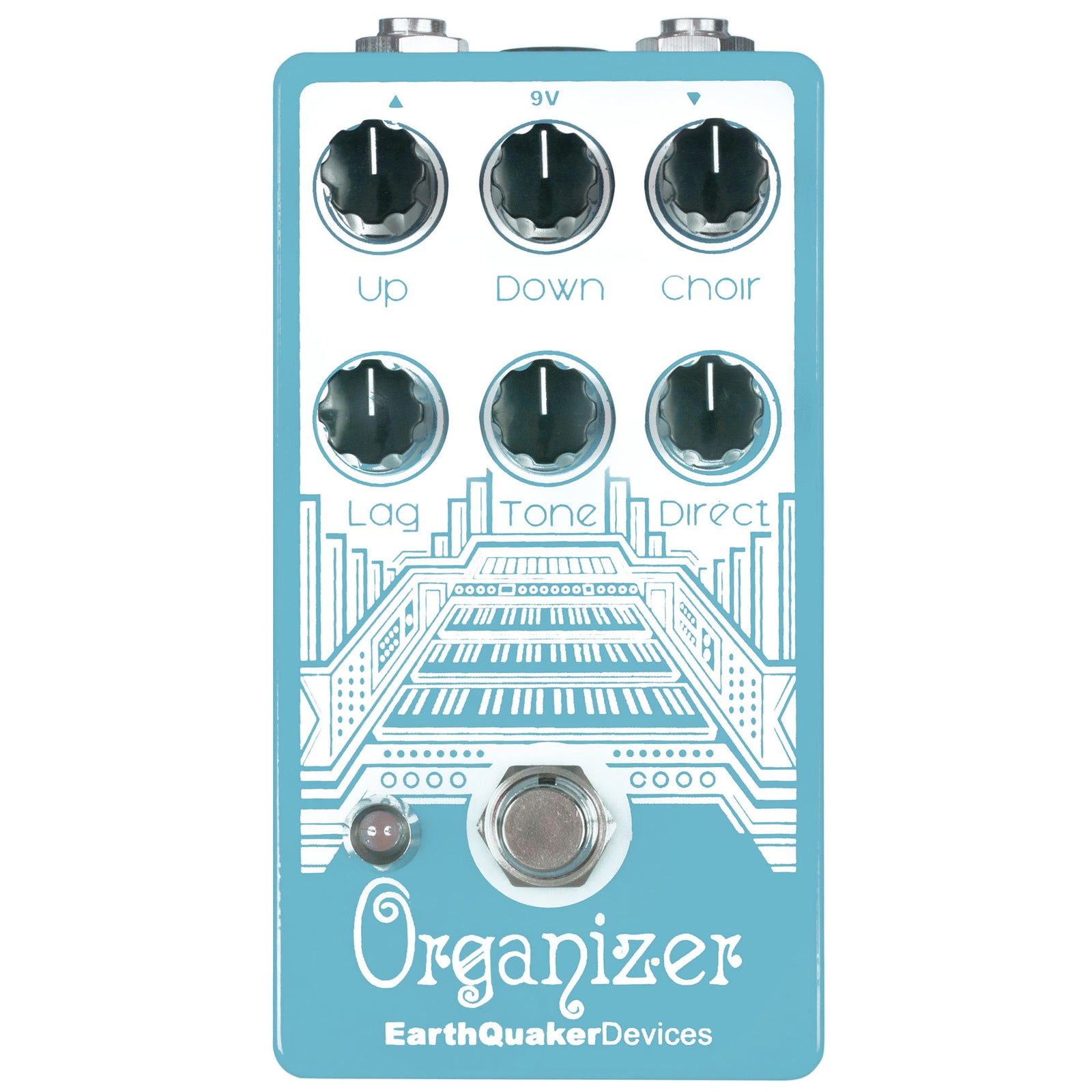 Earthquaker Organizer Polyphonic Organ Emulator