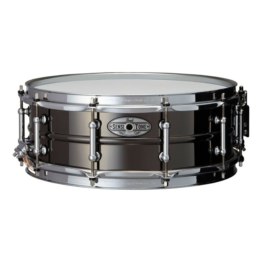 "Pearl 6.5x14"" Sensitone Snare - Beaded Steel - Chrome Plated"