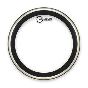 "Aquarian 13"" Performance 2 Clear Drum Head"