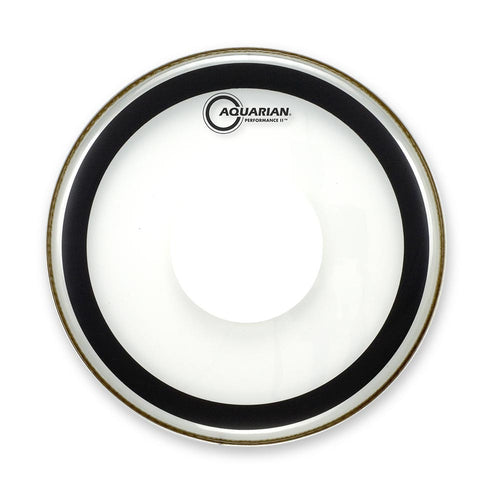 "Aquarian 10"" Performance 2 Clear With Power Dot"