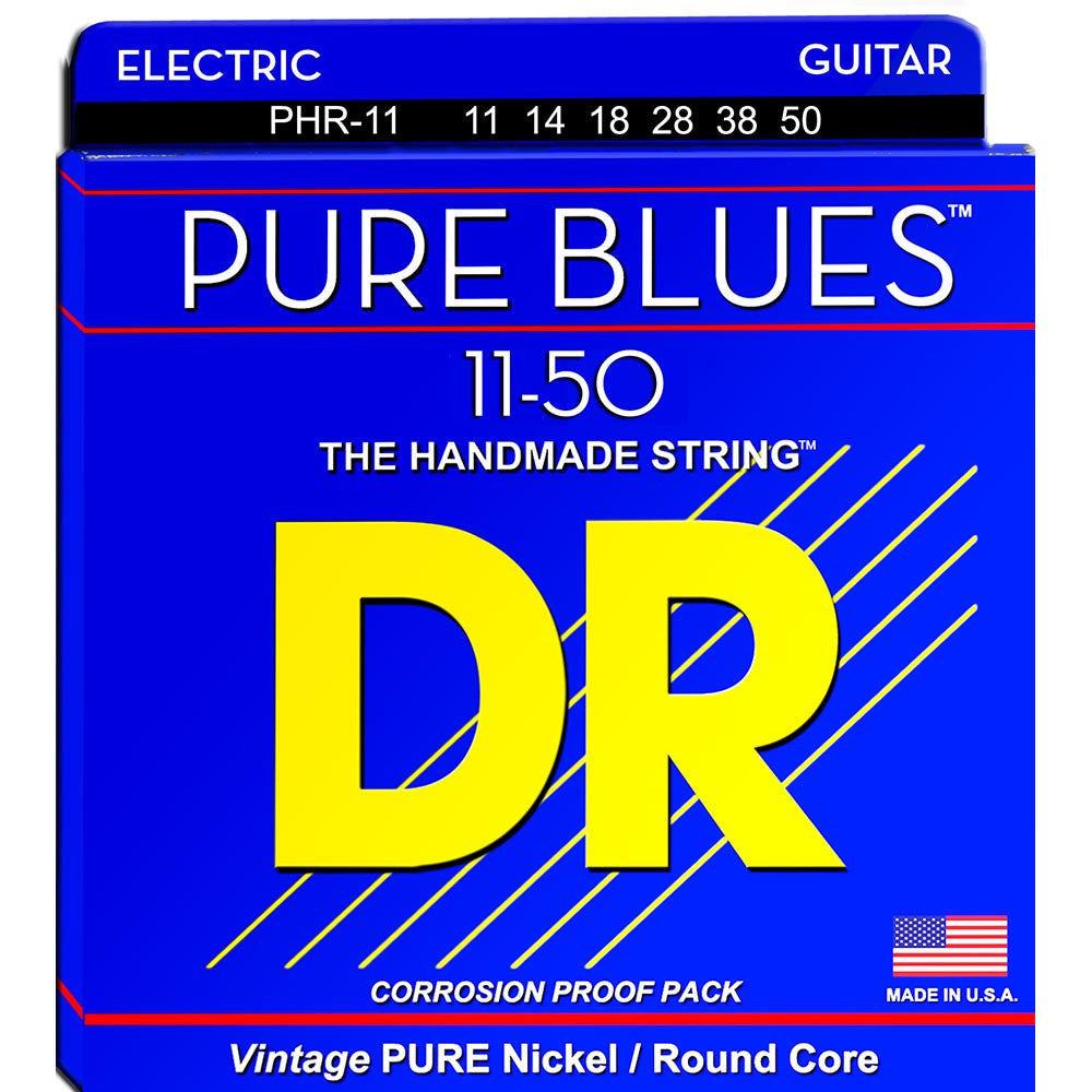 Dr Pure Blues Electric Guitar 11-50
