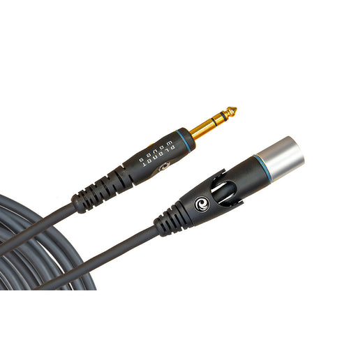 Planet Waves 10' Xlr Male To 1/4 Inch Custom Series Microphone Cable