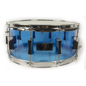 "Pork Pie 6.5x14"" Pig Lite Acrylic Snare - Light Blue"