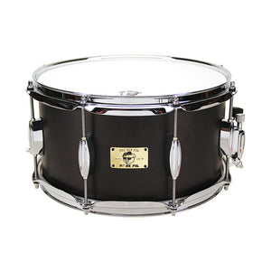 "Pork Pie 7x13"" Hip Pig Snare - Black Satin"