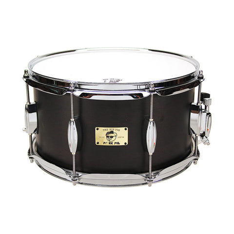 "Ludwig 6.5x14"" Black Beauty Brass Hammered Shell Snare - Tube Lugs"