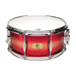 "Pork Pie 6.5x14"" Gold Red Duco Gloss Snare"