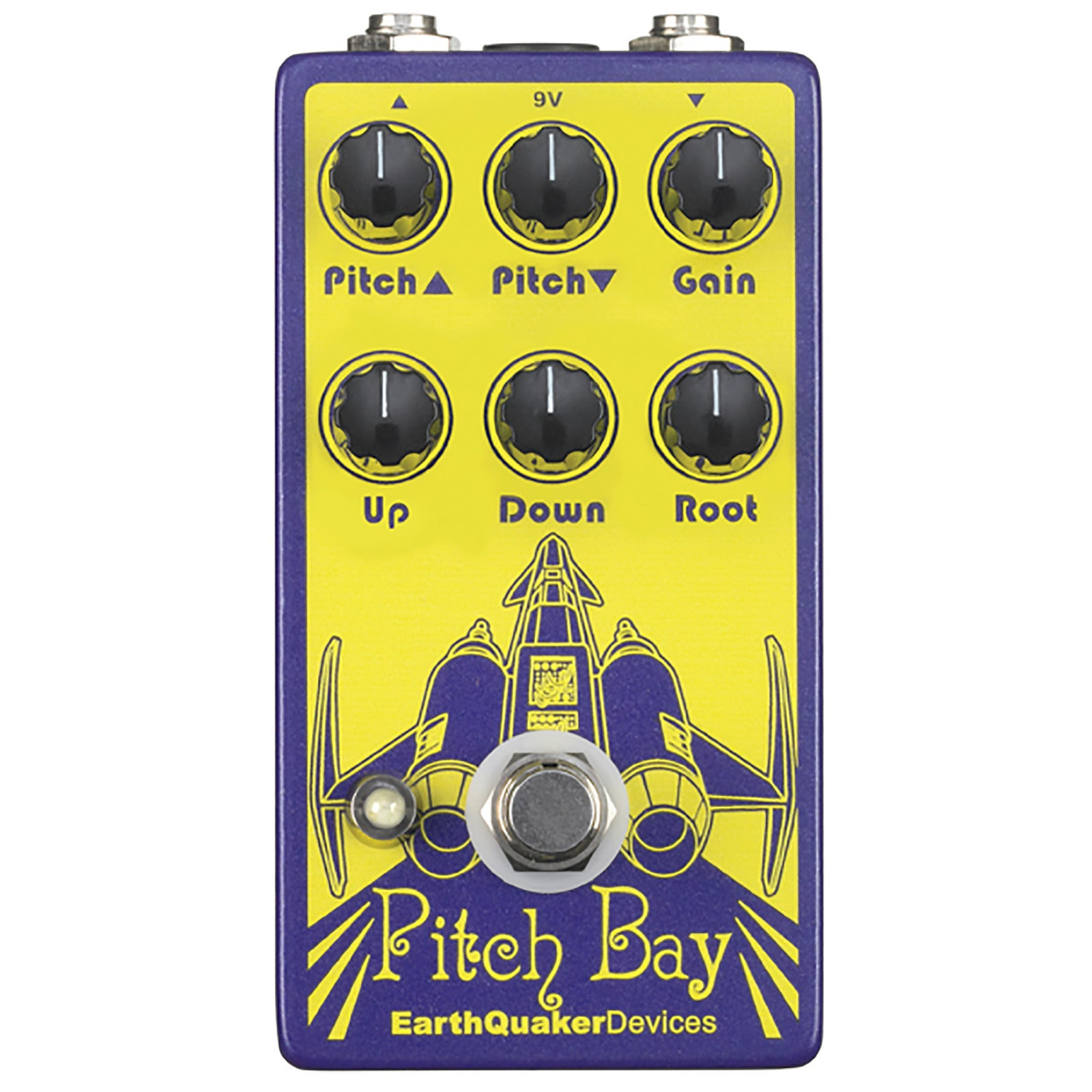 Earthquaker Pitch Bay Dirty Polyphonic Harmonizer