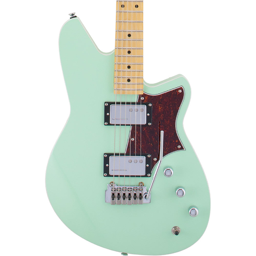 Reverend Descent H90 Baritone Guitar With Wilkinson Tremolo - Oceanside Green