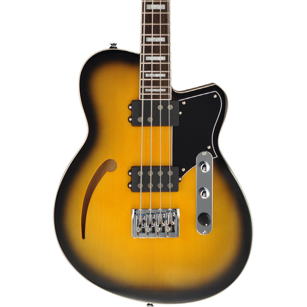 Reverend Dub King Electric Bass - Tobacco Burst