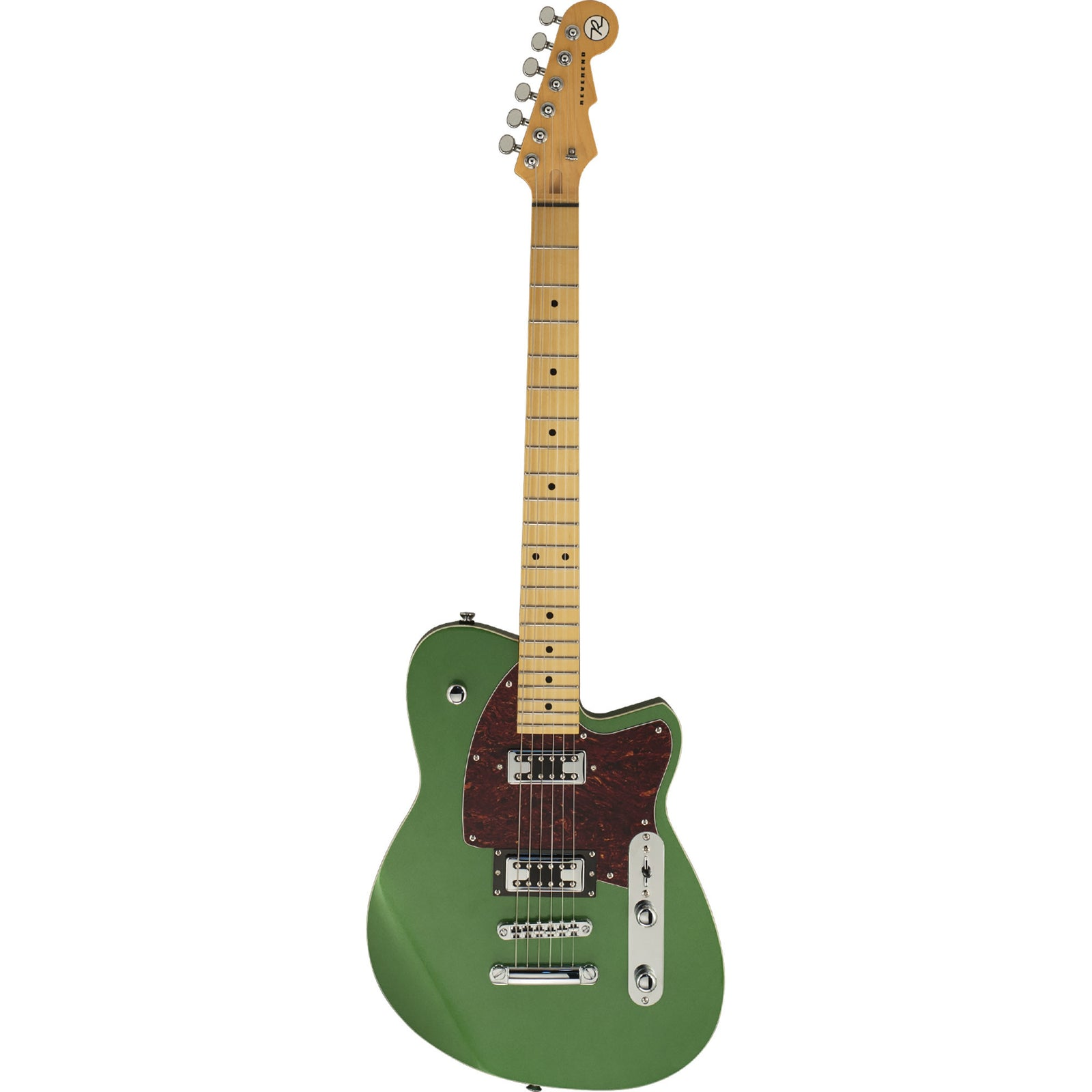 Reverend Flatroc Electric Guitar - Emerald Green