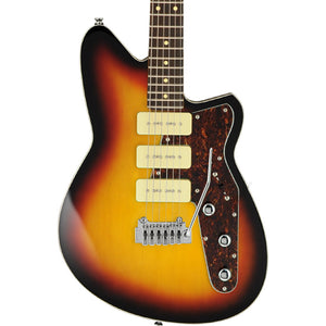 Reverend Jetstream 390 With Wilkinson Tremolo - 3-Tone Burst