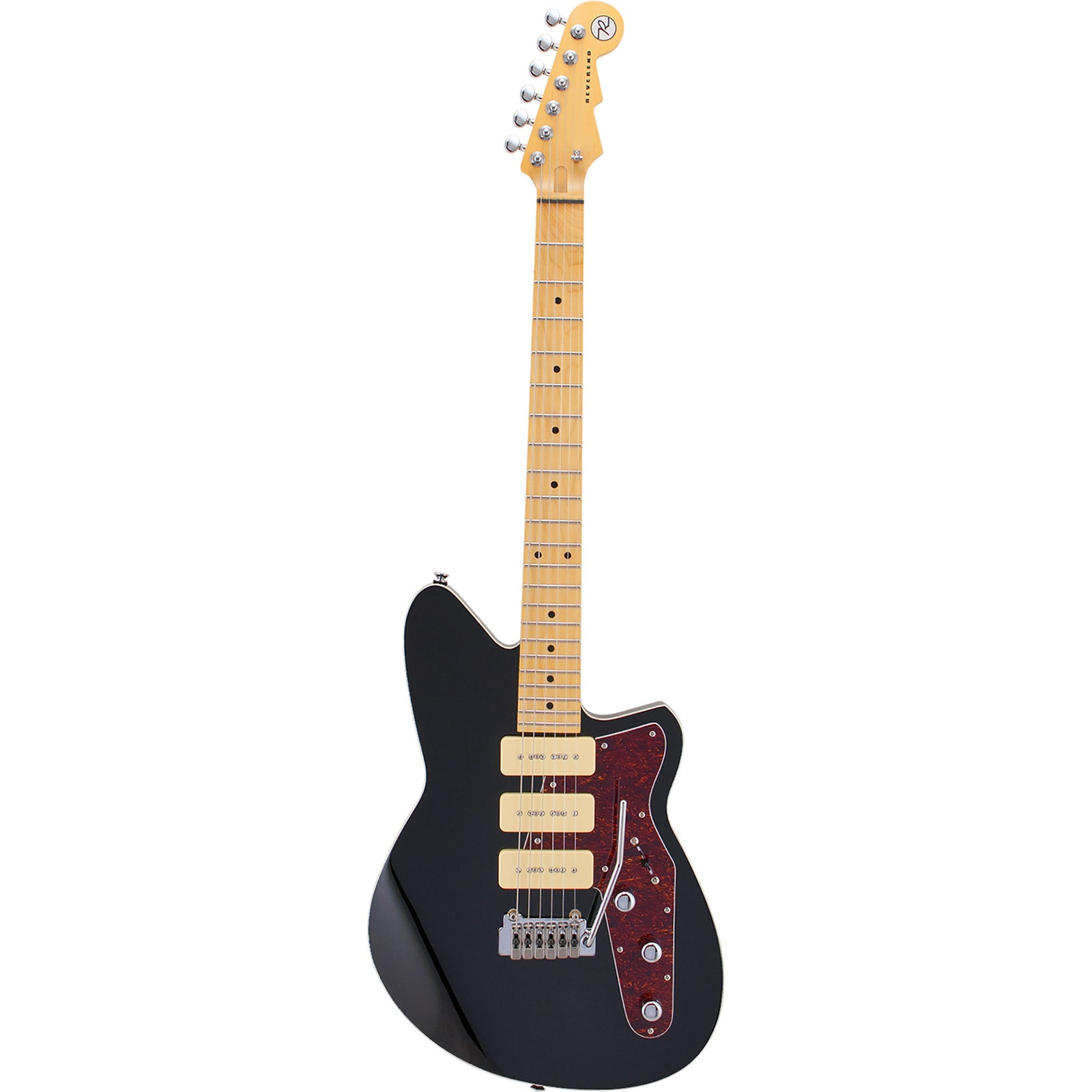 Reverend Jetstream 390 With Wilkinson Tremolo - Midnight Black