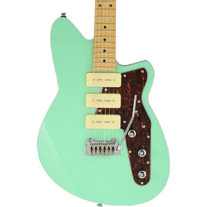Reverend Jetstream 390 Electric Guitar W/ Wilkinson Tremolo, Oceanside Green