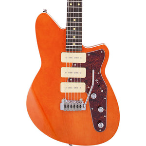 Reverend Jetstream 390 Electric Guitar W/ Wilkinson Tremolo, Rock Orange