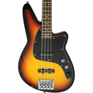 Reverend Justice Electric Bass - 3-Tone Burst
