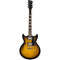 Reverend Manta Ray HB - Tobacco Burst Flame Maple