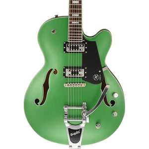 Reverend Pete Anderson Signature With Revtrons - Satin Metallic Emerald