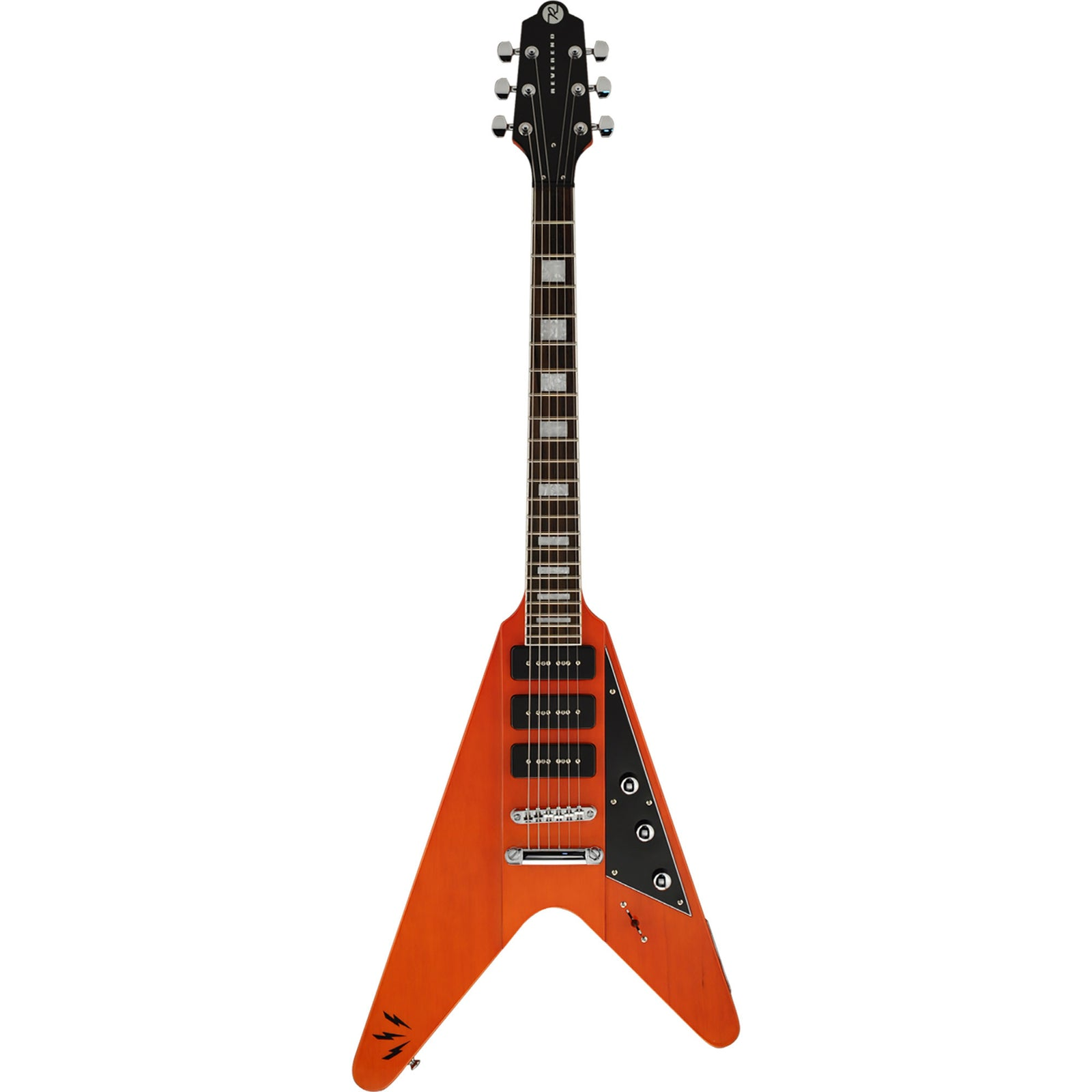 Reverend Ron Asheton Signature - Rock Orange
